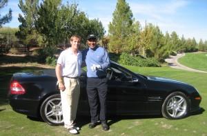 golf contests - new car