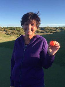 golf shoot-out contest winner - rita bates