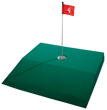 Portable Putting Contest Ramp for Indoor Putting Contests