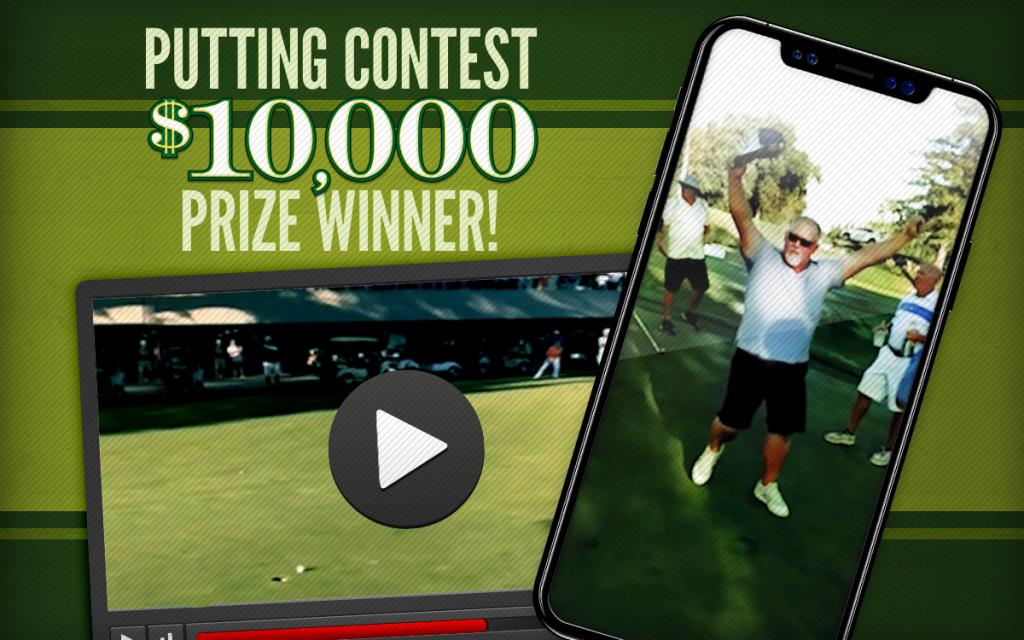 putting contest insurance winner