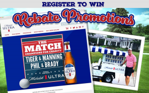 golf conditional rebate - beer