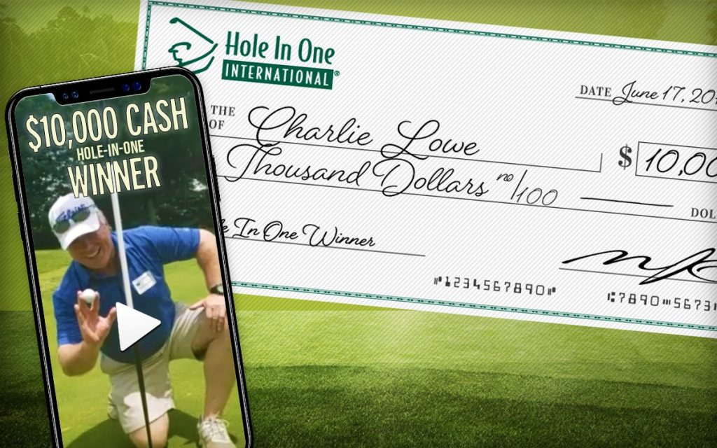 fundraising hole in one winner