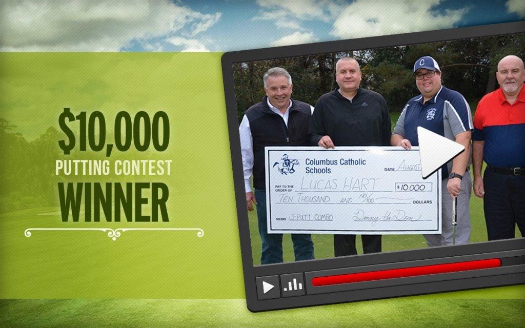 combination putting contest winner