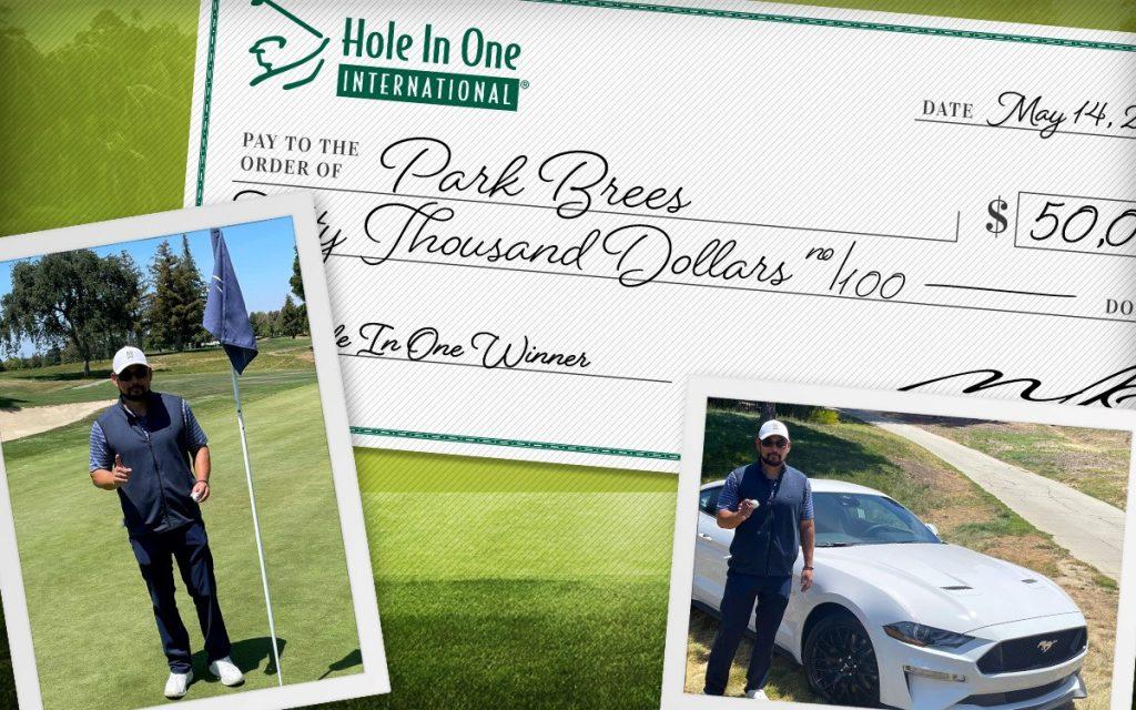 hole in one winner park brees